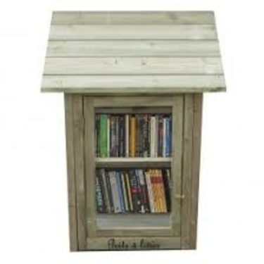 Ateliers zéro déchet: fabriquer une boite à livres extérieure en récup''