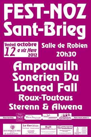 Grand fest-noz annuel organisé par Skol Diwan Sant-Brieg