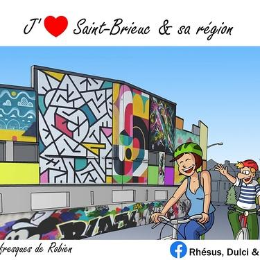 Jean-Christophe Balan rend hommage au quartier de Robien.