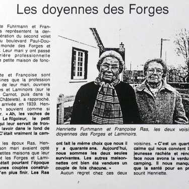Mémoire ouvrière de Robien, des témoins.