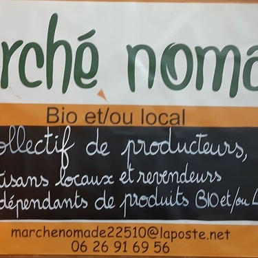 Premier marché nomade sur l''esplanade Robien, mardi 4 février de 16h à 19h . Vin chaud d''accueil à 18h30.