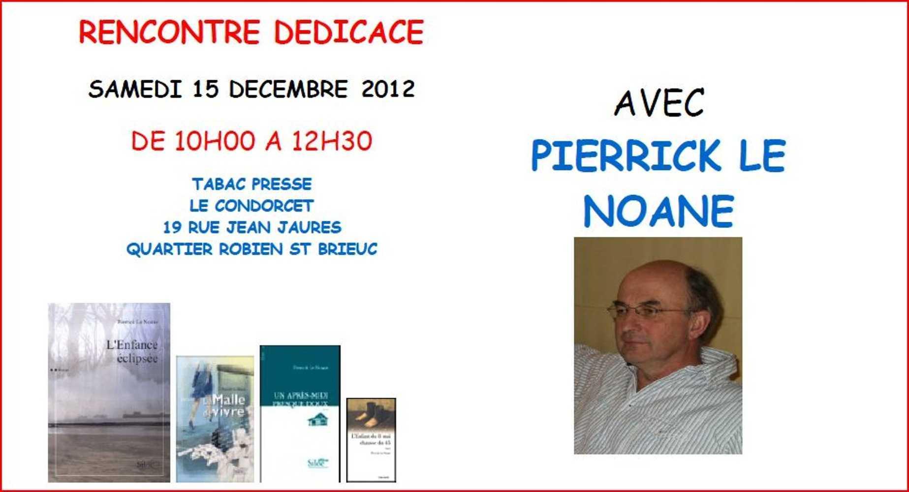 Dédicace au Condorcet samedi 15 décembre 0