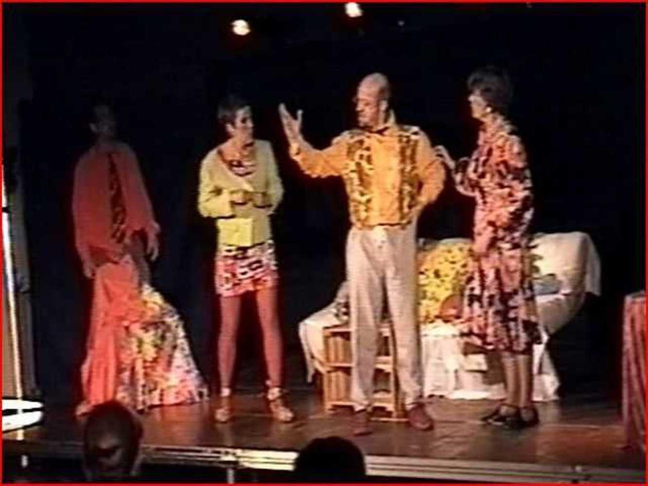 Activité de Théâtre à Robien sept20051