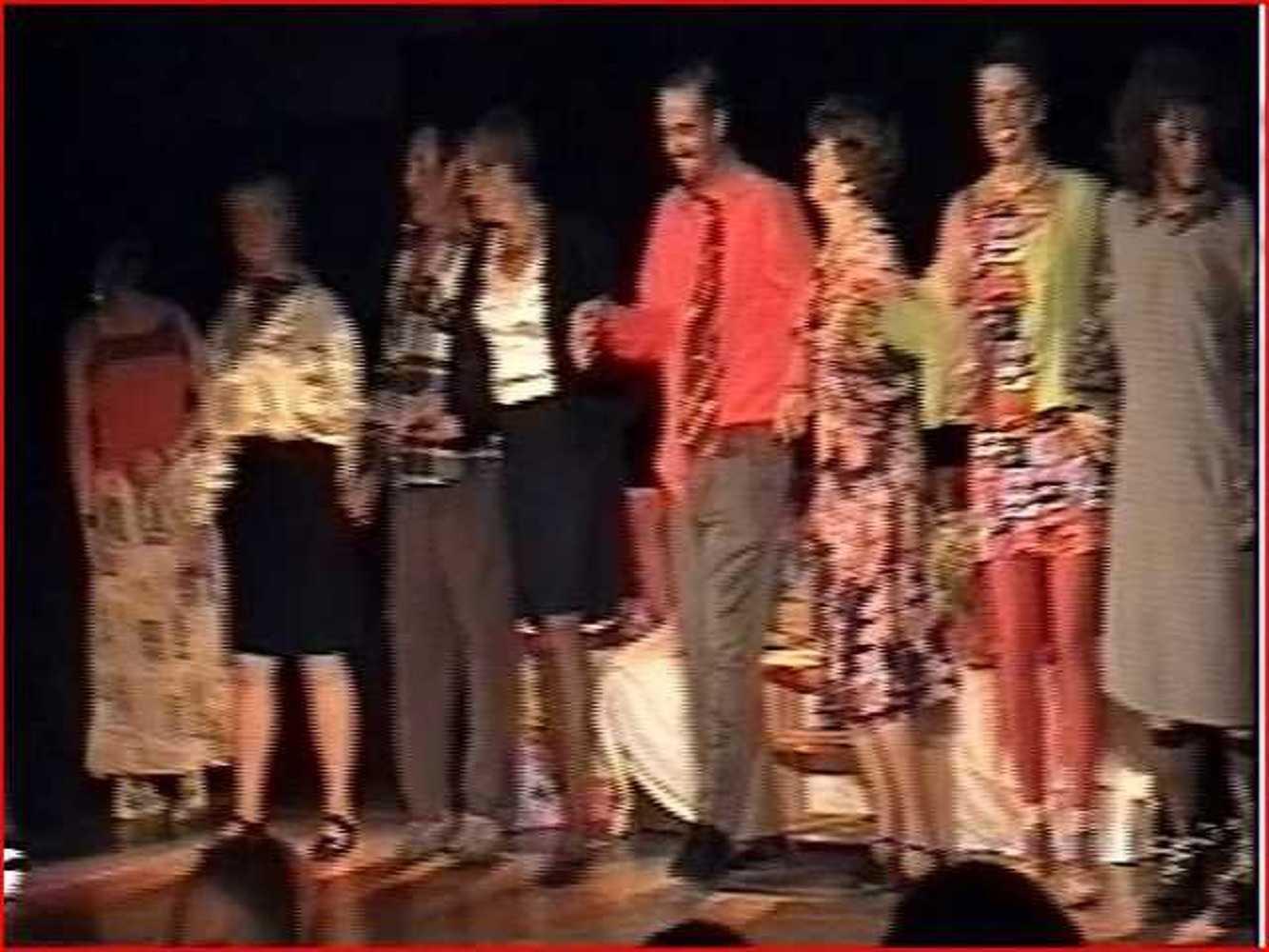 Activité de Théâtre à Robien sept20054