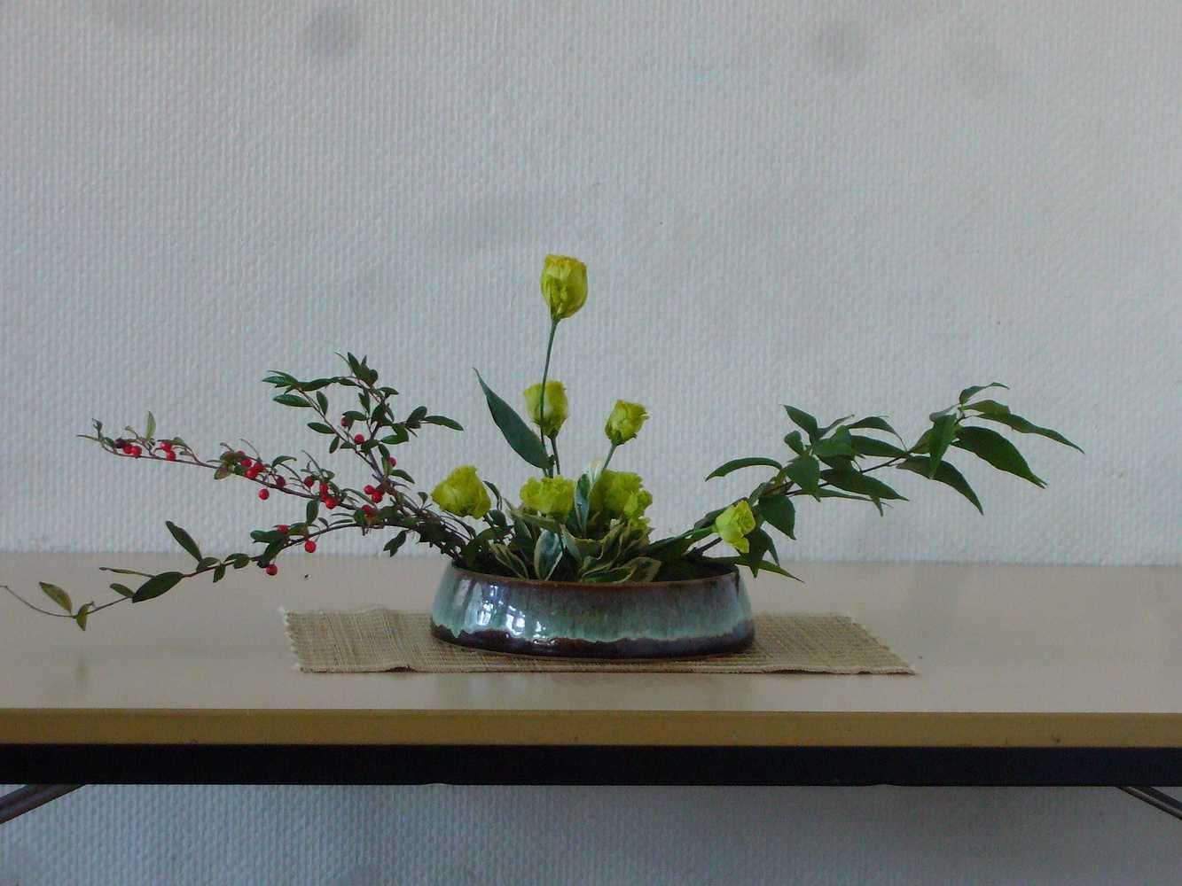 C''est la rentrée ! A vos sécateurs pour votre premier bouquet ikébana ! p1020394