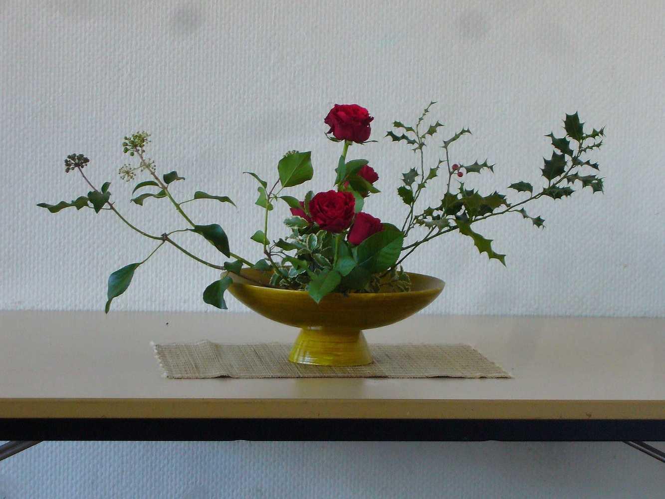 C''est la rentrée ! A vos sécateurs pour votre premier bouquet ikébana ! p1020395