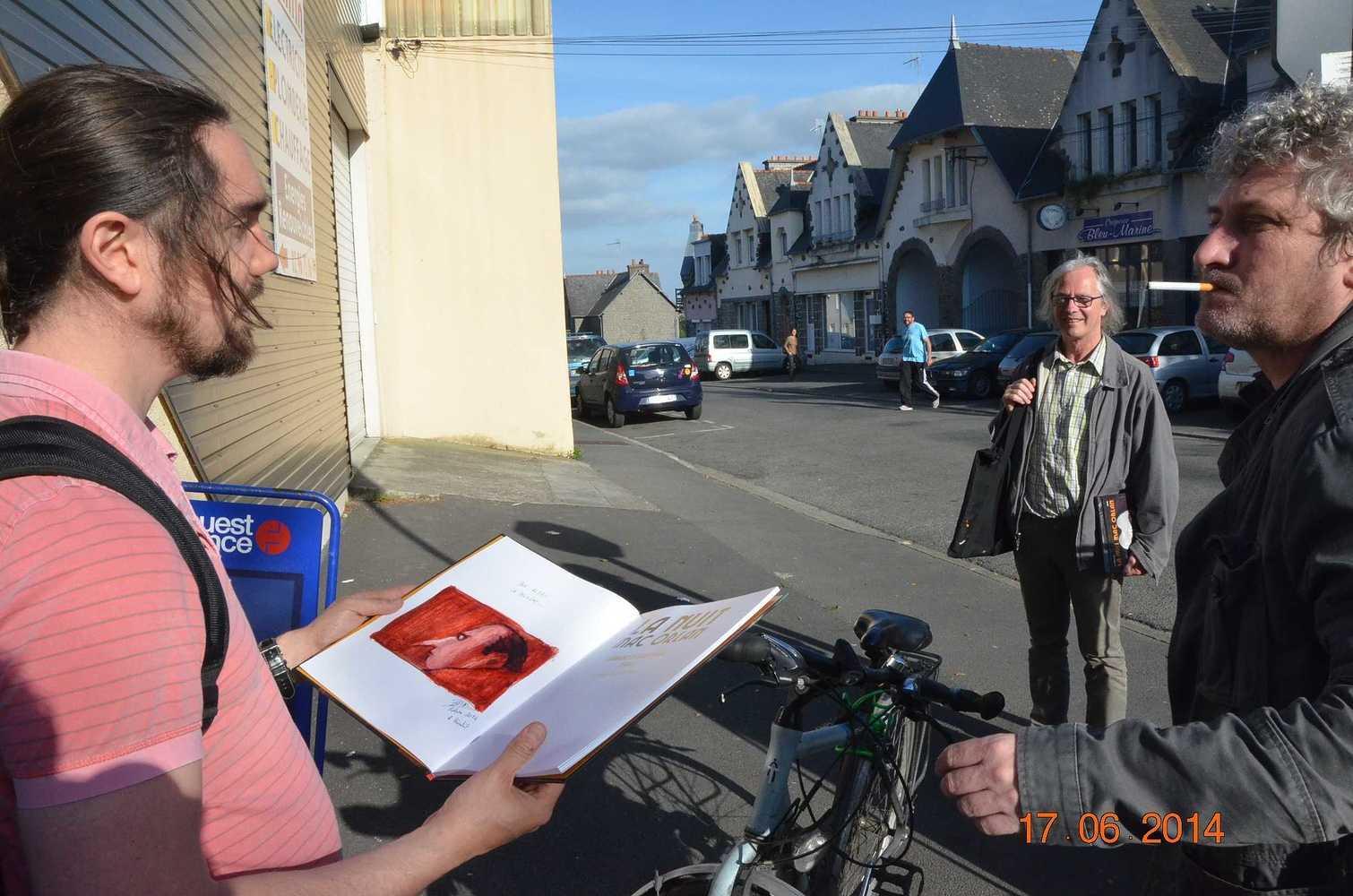 Première galette littéraire pour Briac. 2014 dsc0028