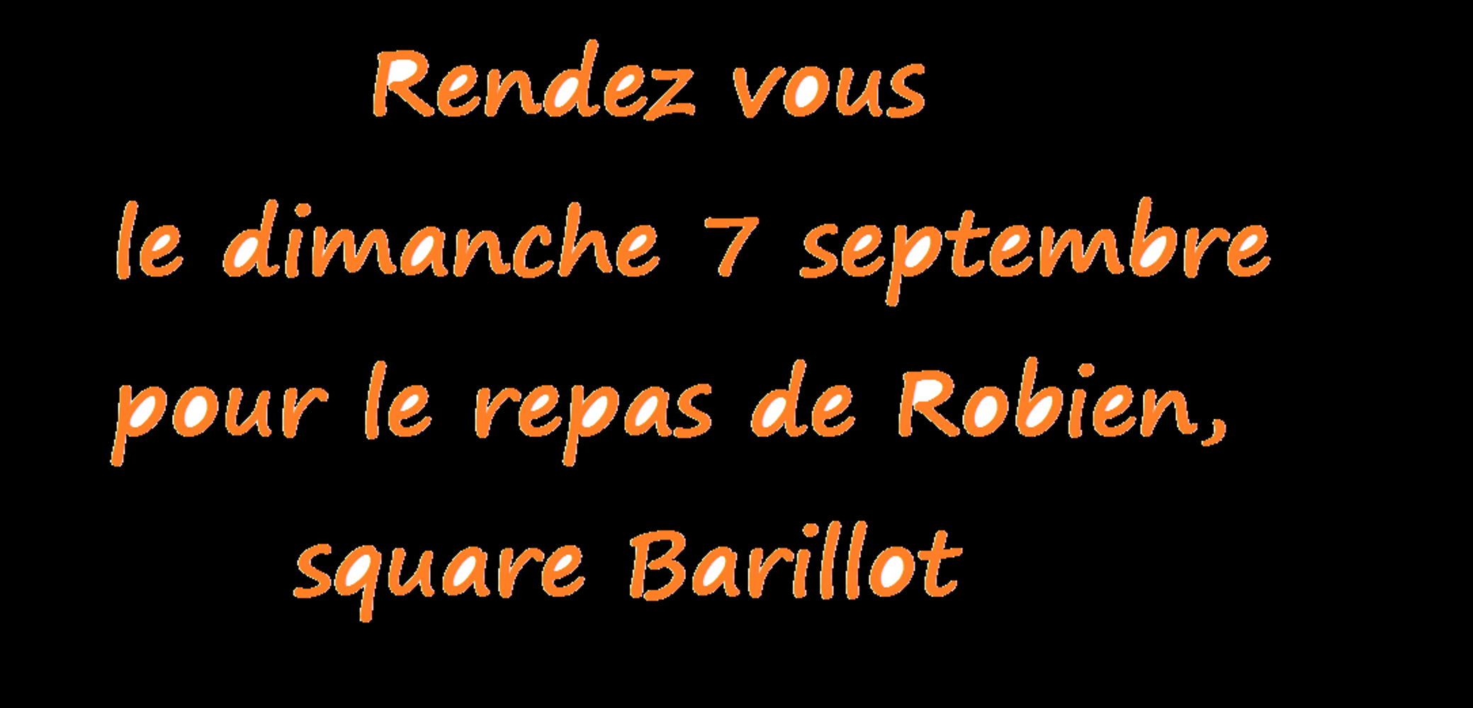 Repas de quartier : rendez-vous le 7 septembre, square Barillot 0