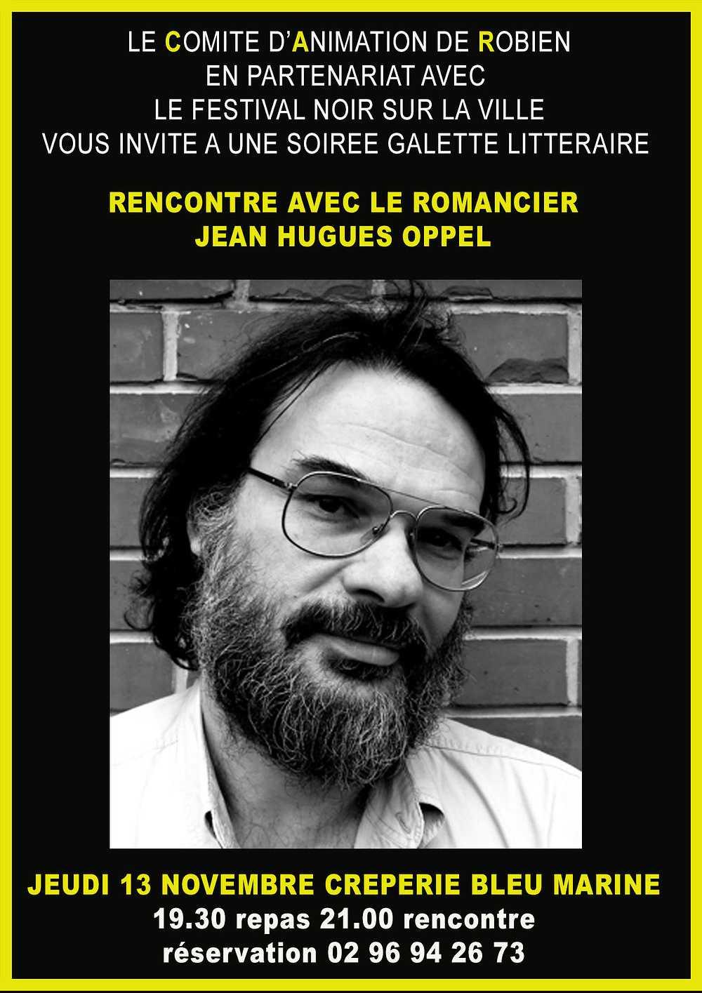 Galette littéraire avec Jean-Hugues Oppel 0