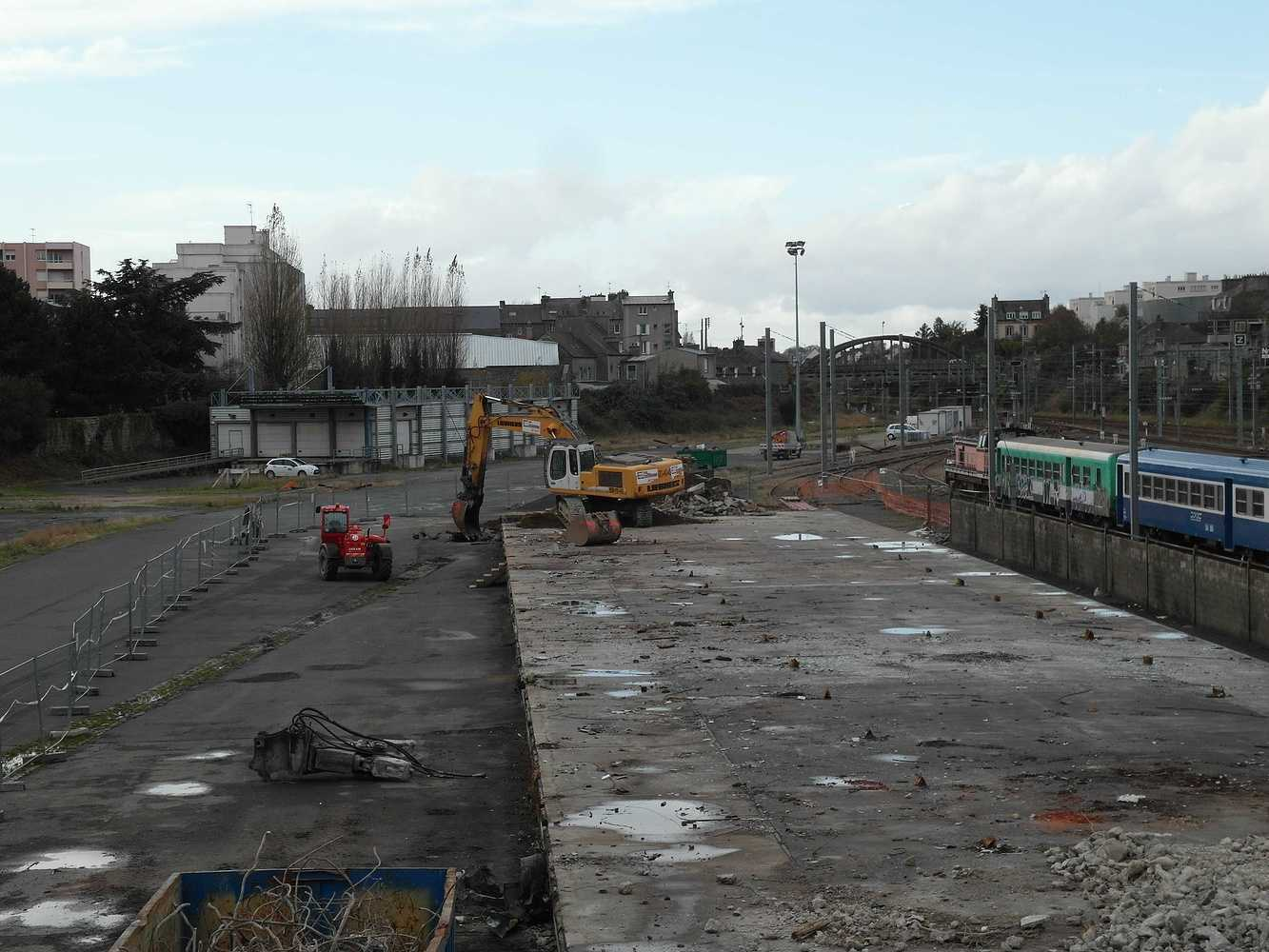 Les travaux continuent sud gare 2014 sam5142