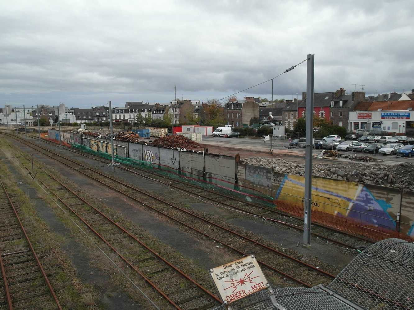 Les travaux continuent sud gare 2014 sam5151