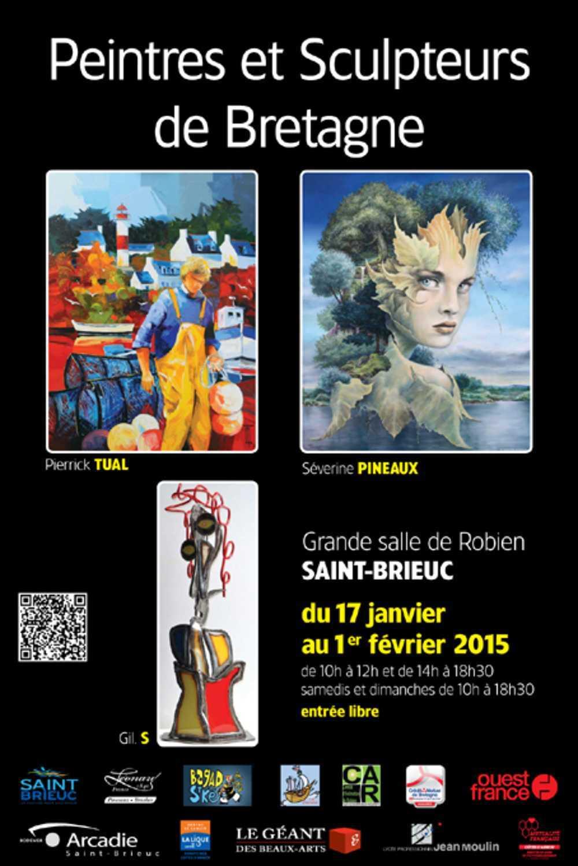 Biennale 2015 Peintres et Sculpteurs de Bretagne : du 17 janvier au 1er février 0