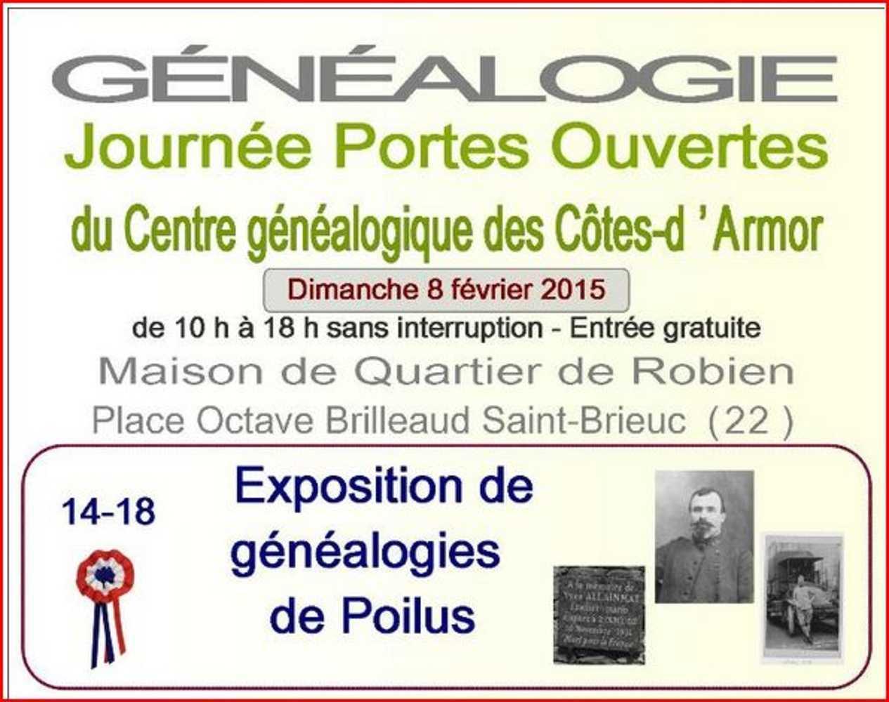 Centre généalogique des Côtes d''Armor 0