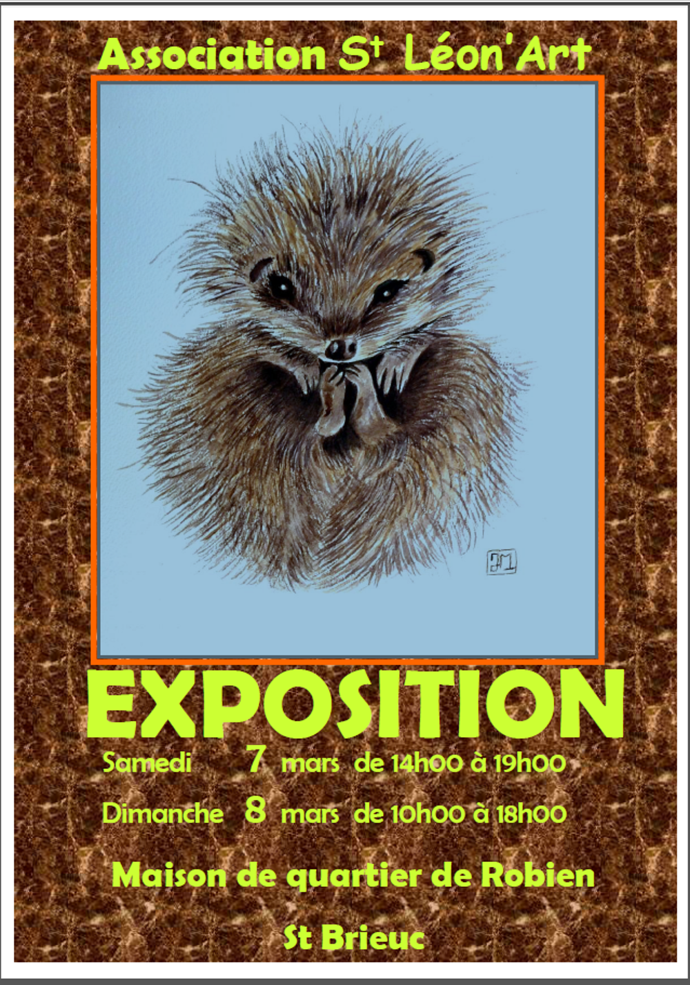 Exposition organisée par l''association St Léon''Art 0