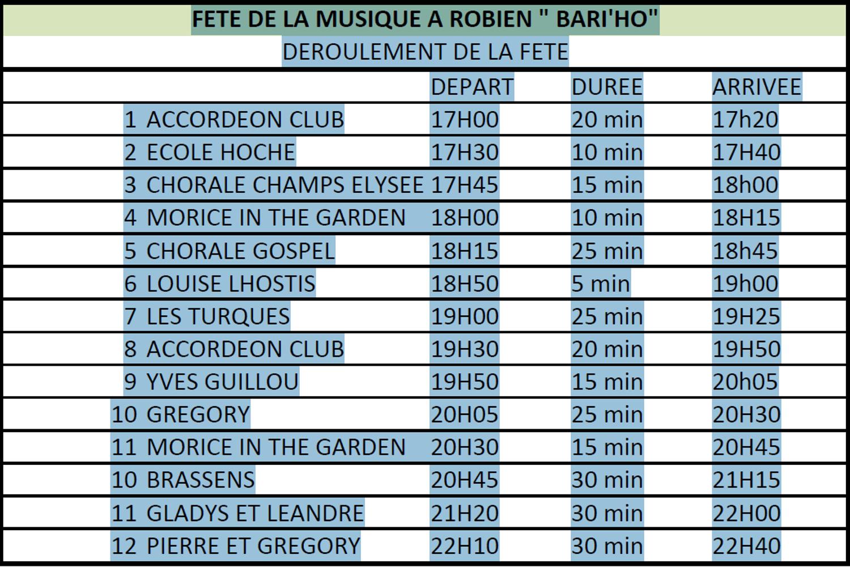 """Fête de la musique : le 20 juin au square """"Bari''ho"""" sanstitre"""