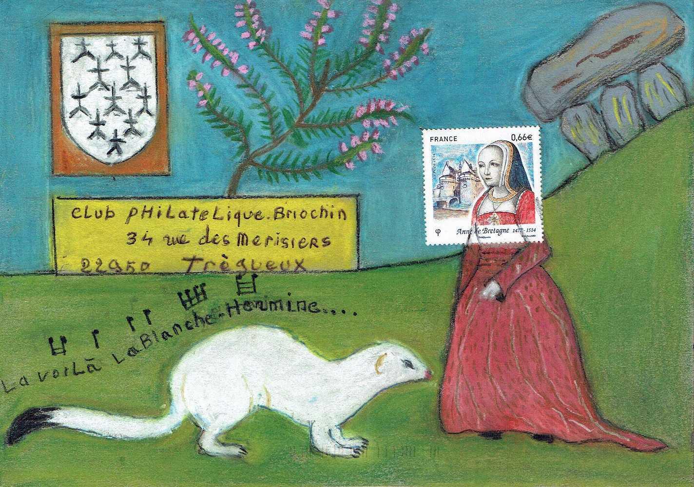 2ème exposition d''art postal à SAINT-BRIEUC les 2 et 3 avril 2016 0