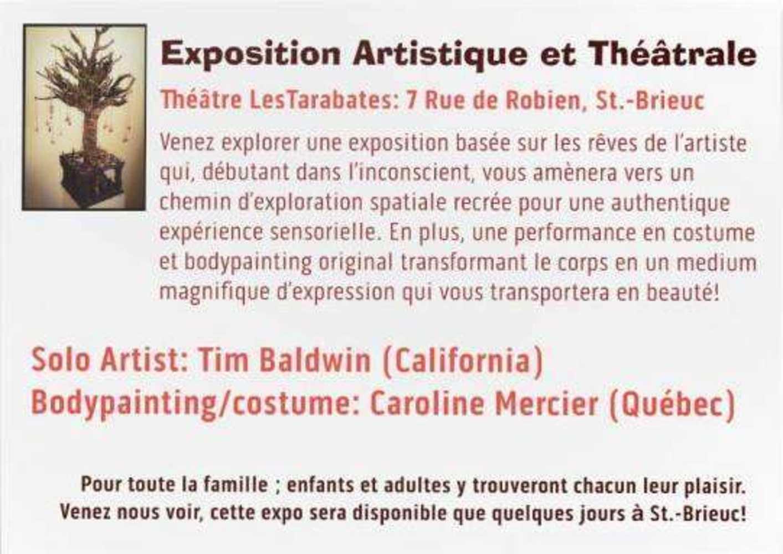 Exposition artistique et théâtrale au théâtre des Tarabathes, 7 rue de Robien 1273357111943601672487659025272766356413455n