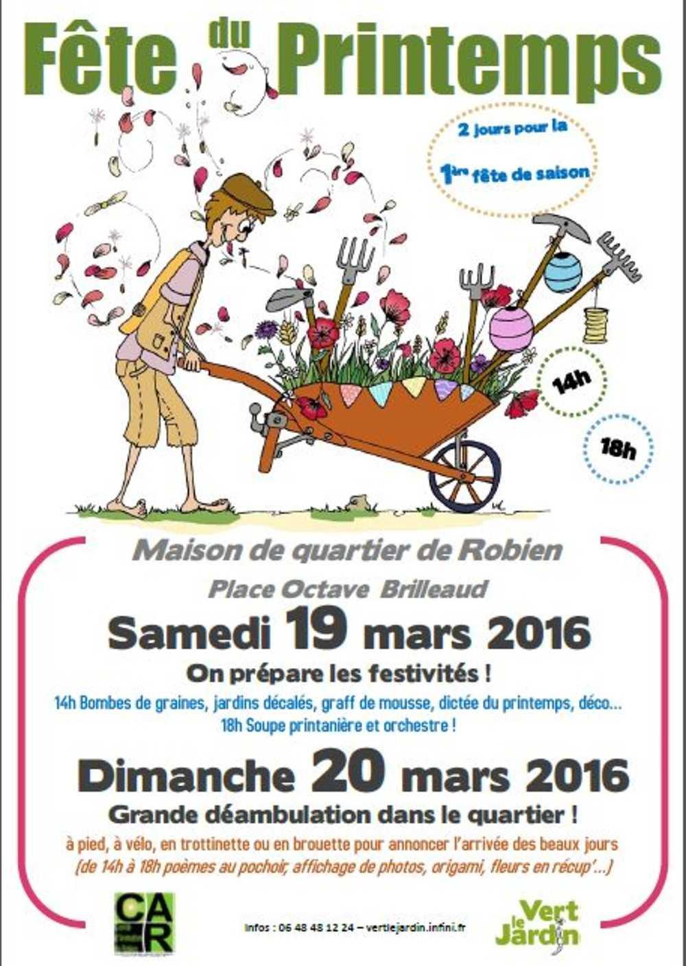 Fête du printemps : 19 et 20 mars 2016 0