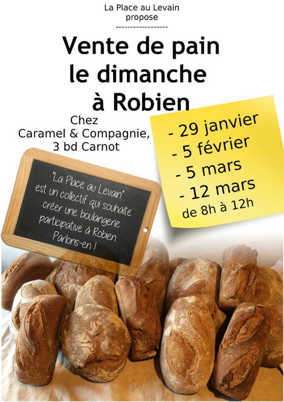 Vente de pain le dimanche à Robien. 2017 0
