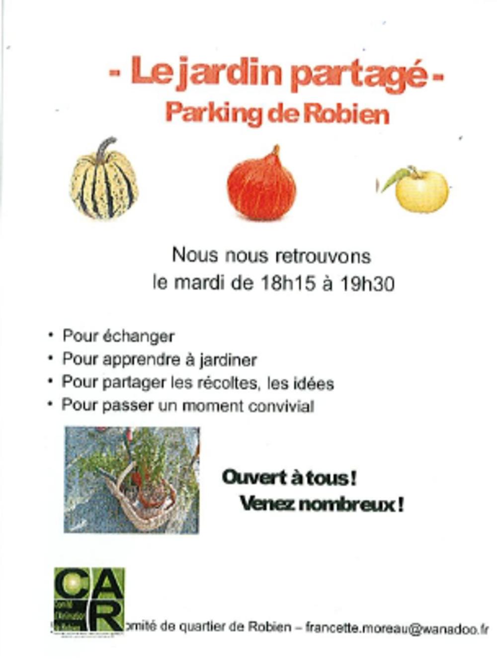 Jardin partagé cherche jardiniers 0