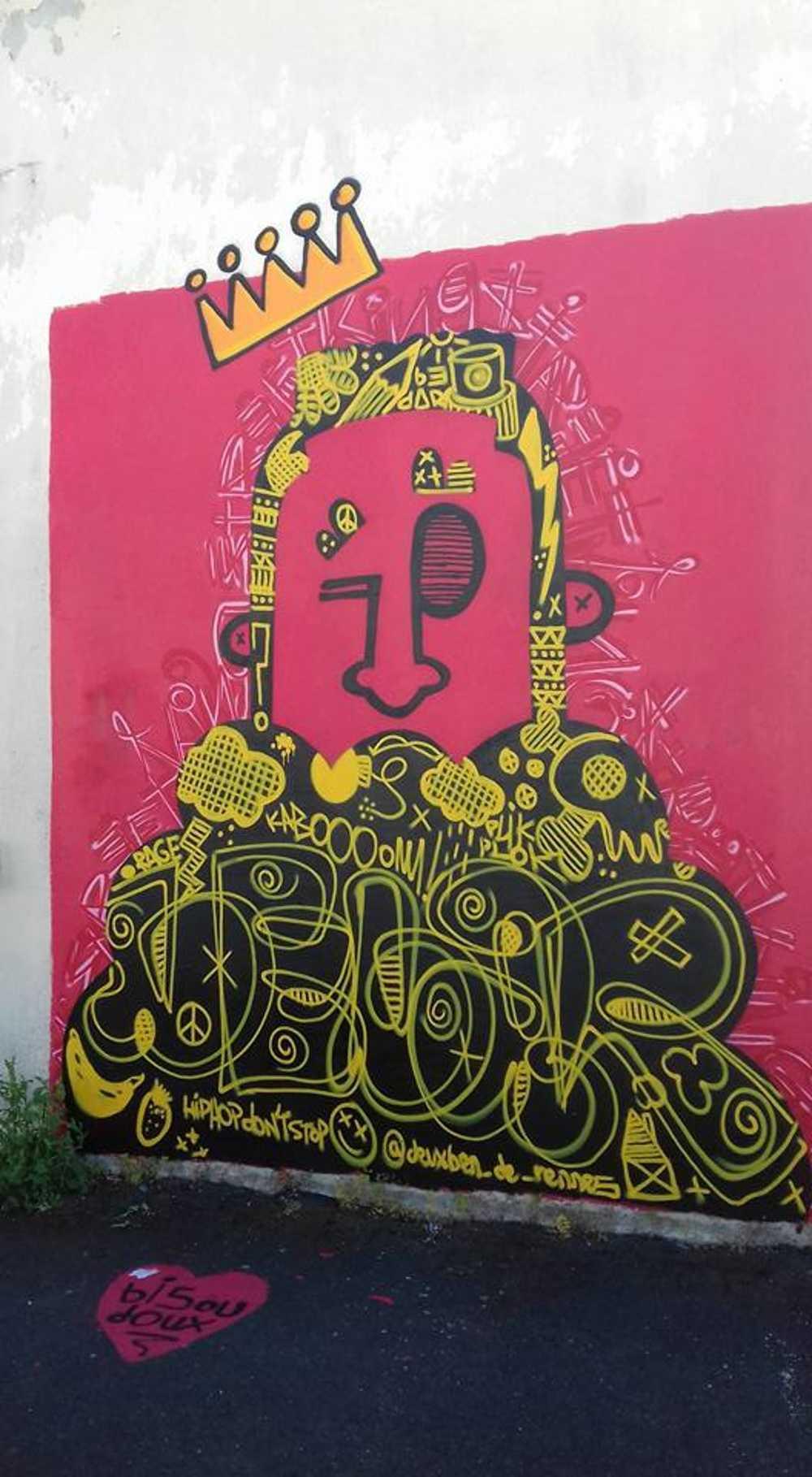 Robien , quartier Street''Art. 2017 0