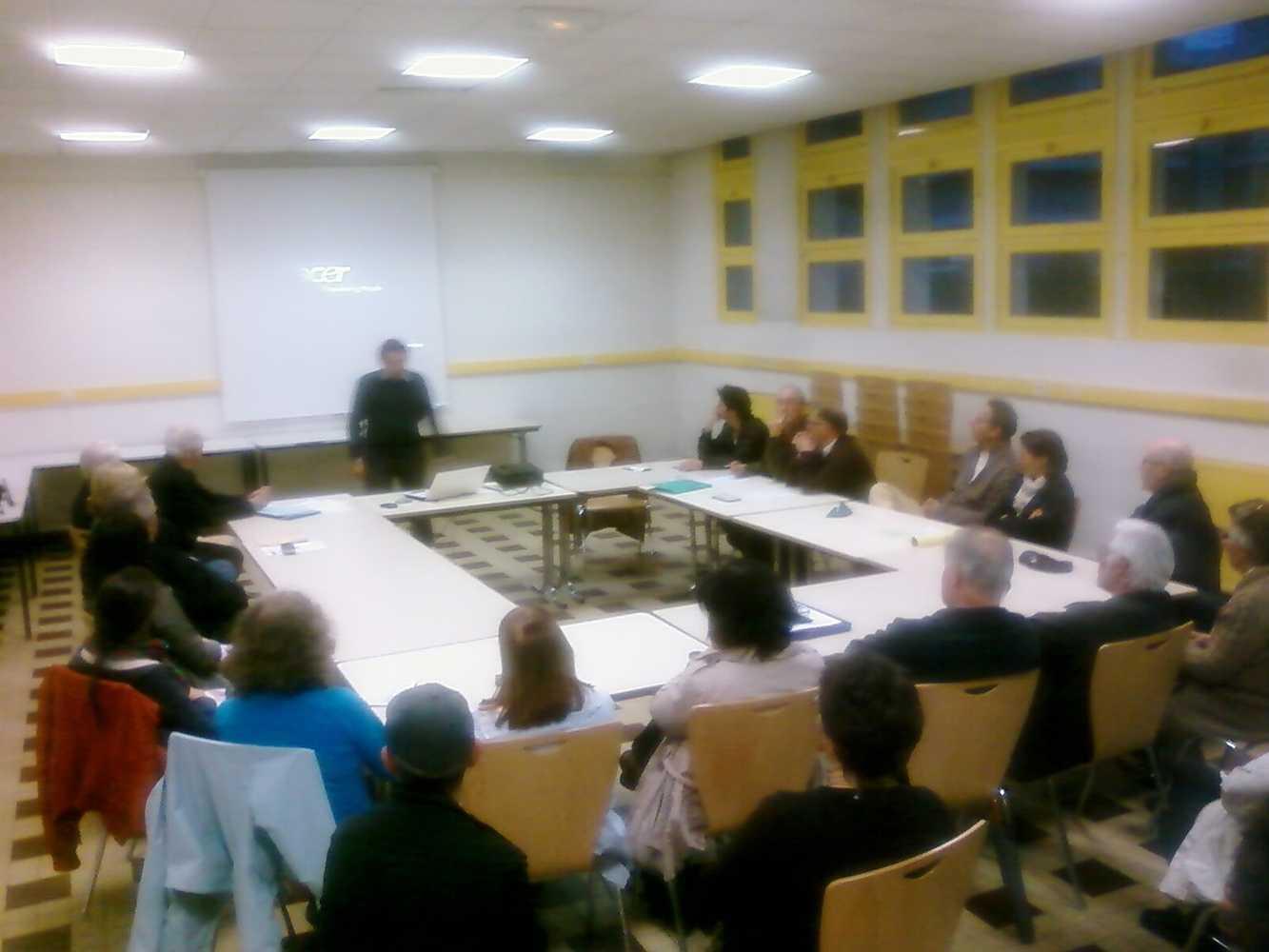 La commission projet du 13 juin 2012 0