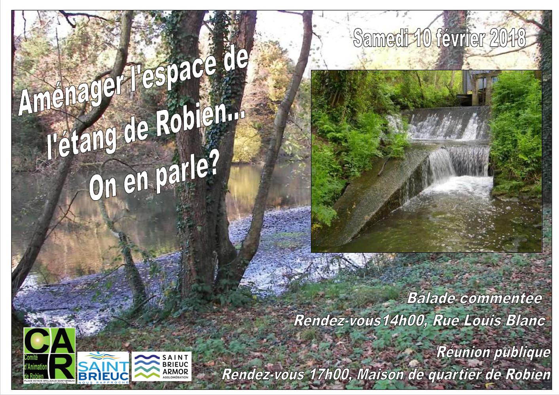Aménager l''espace de l''étang de Robien, on en parle? etang
