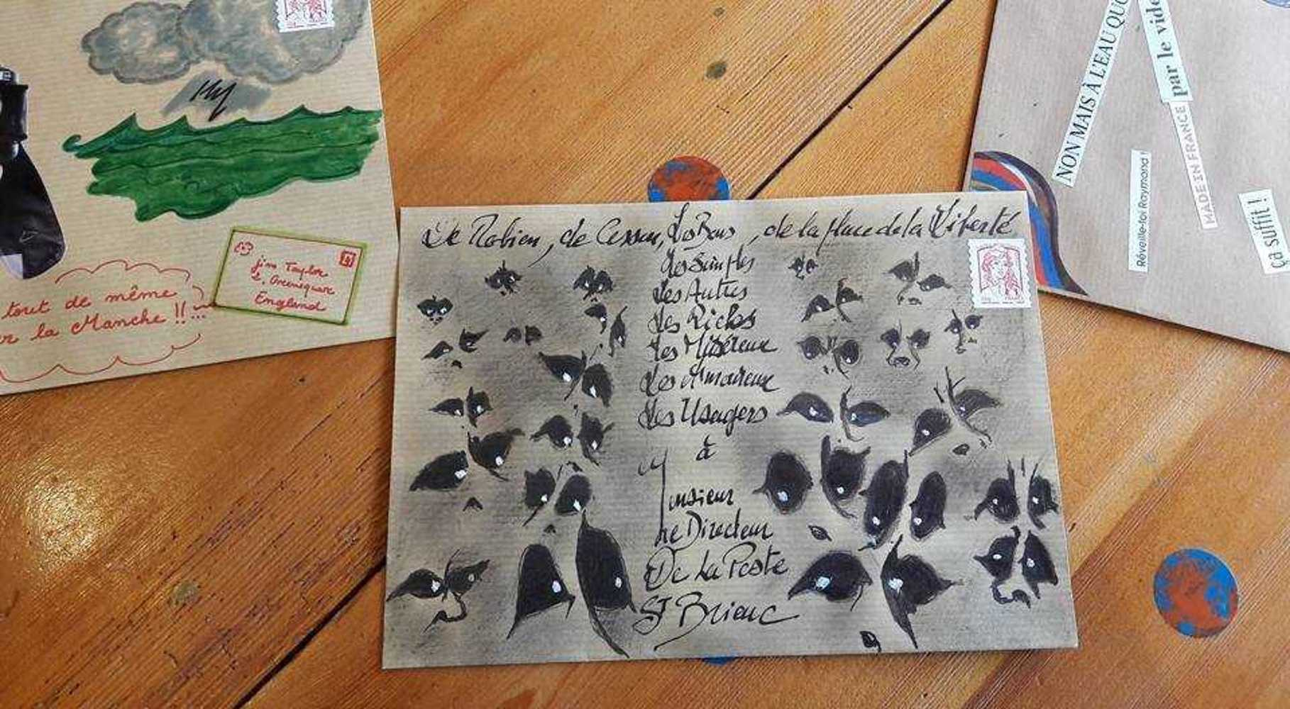 L''art postal pour défendre la poste 277515152121684944516278650582357032170361n