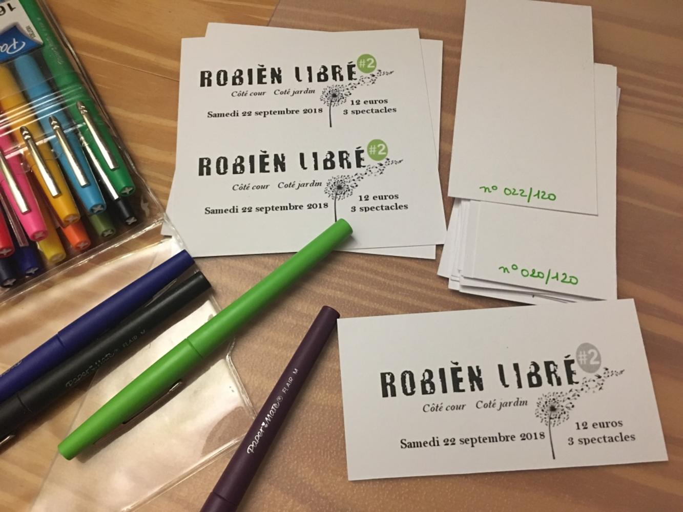 Robièn Libré #2 C''est le 22 septembre. 0