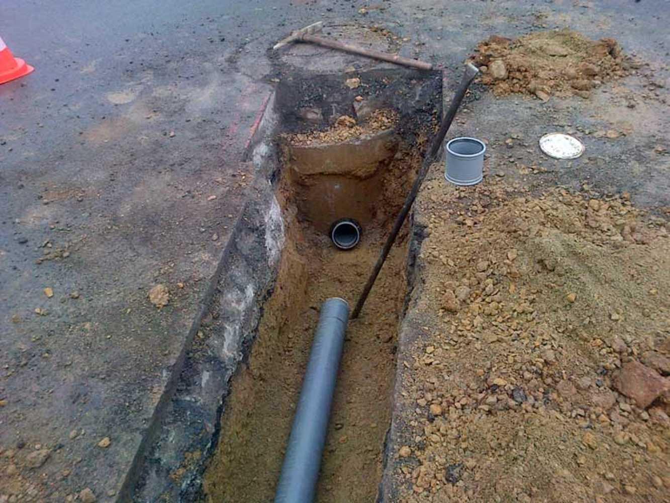 Raccordements aux réseaux publics des eaux usées et pluviales 0