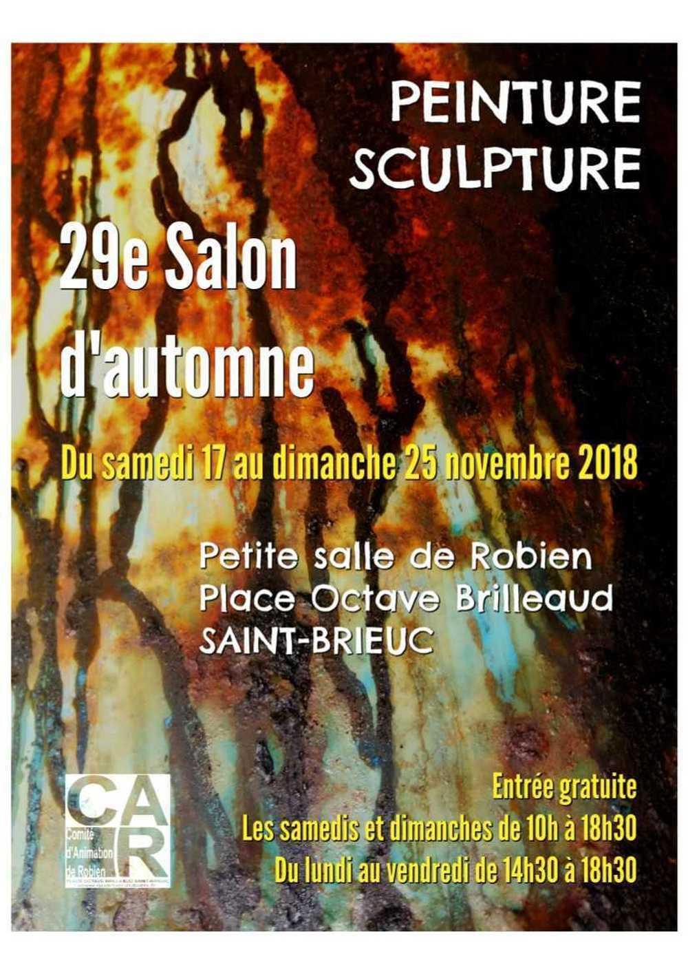 Salon d'Automne : 10 jours d'exposition affichesalon2018