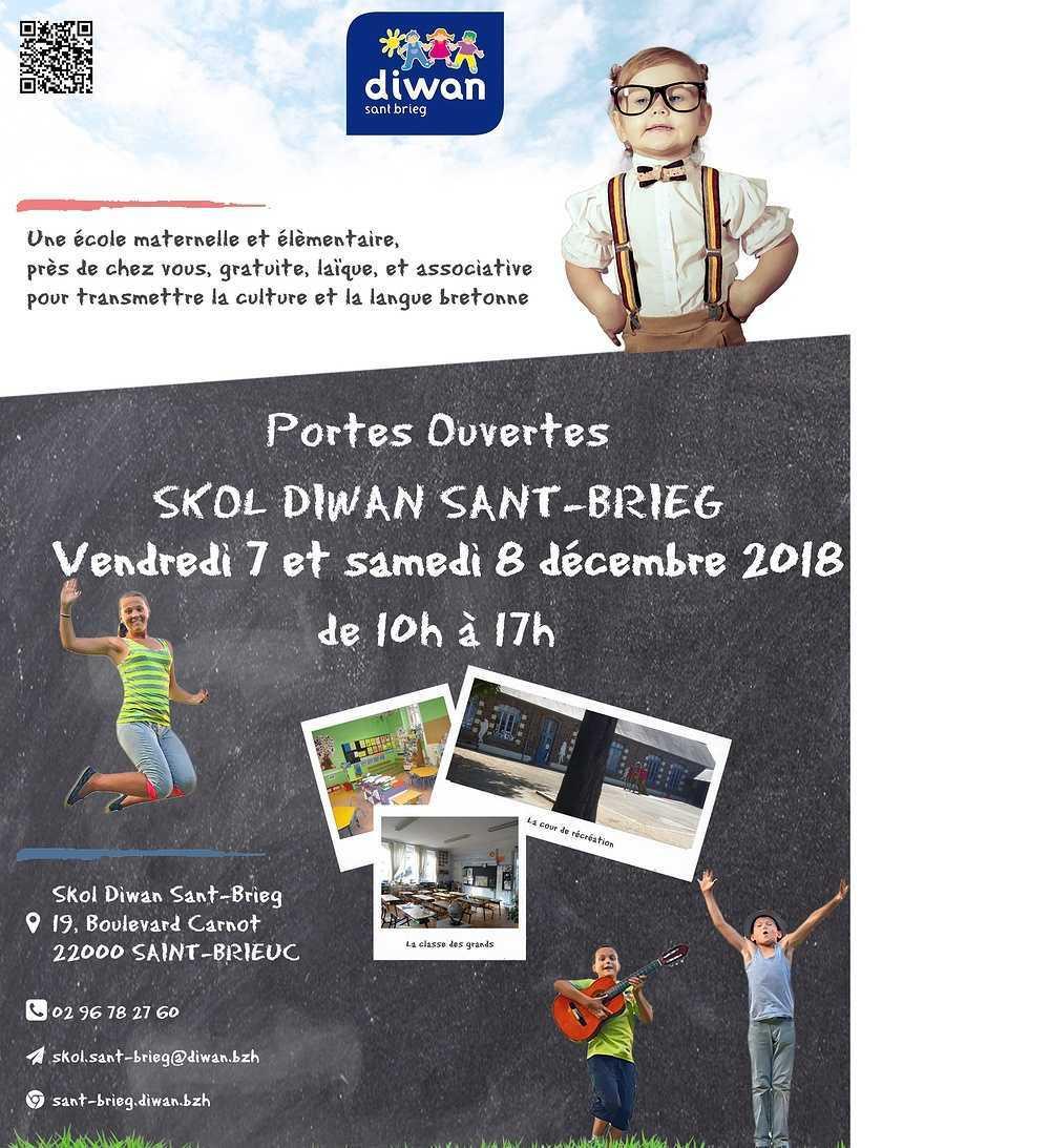 Portes ouvertes de l''école Diwan les 7 et 8 décembre 0