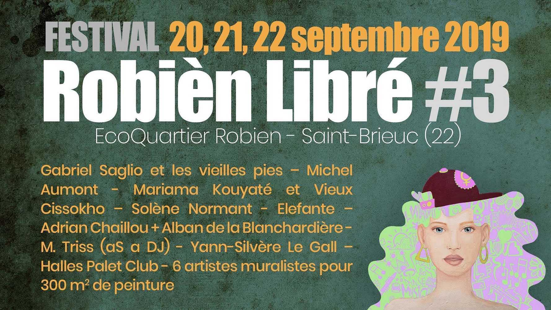 Robien Libre #3 du 20 au 22 septembre 0