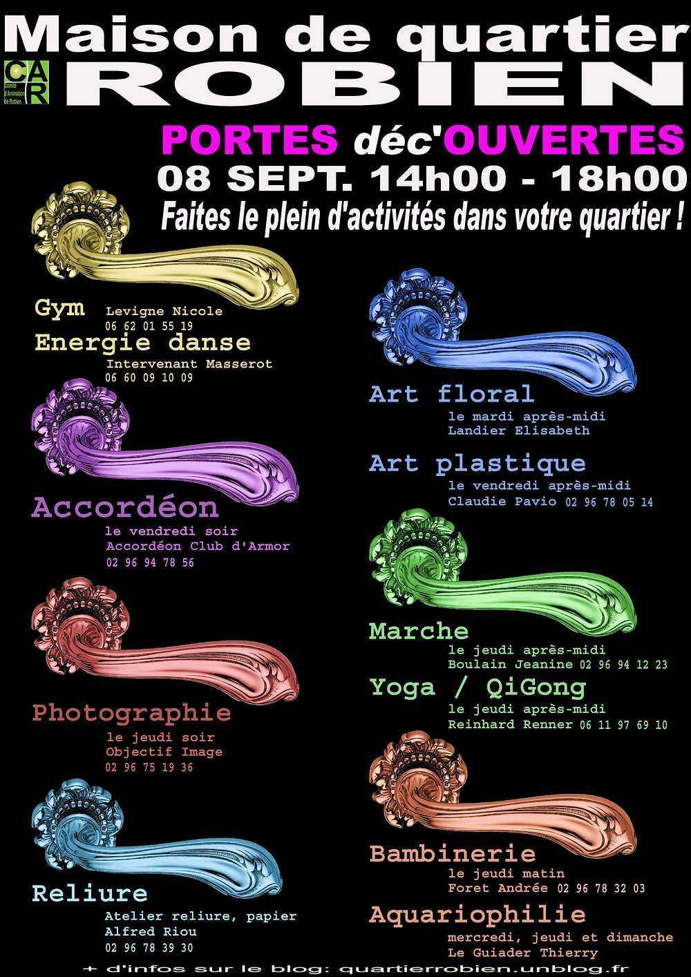 Portes ouvertes à la Maison du CAR samedi 8 septembre 2012 0